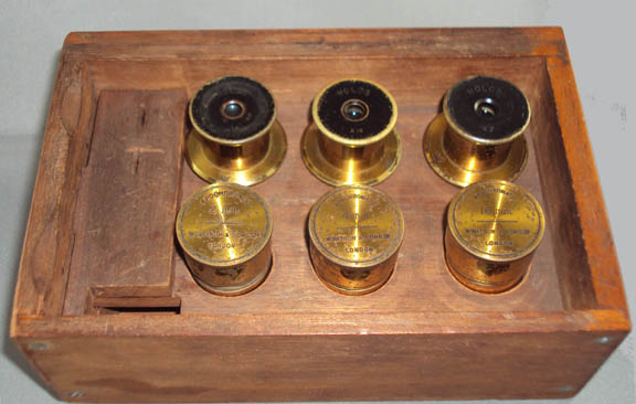 Royal Microscope Drawers
